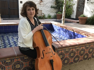 In the Pit: Rowena Hammill, Associate Principal Cello